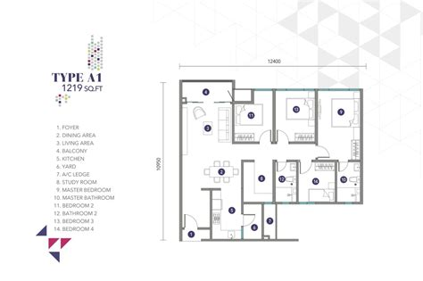 1 Desa Residence Floor Plan by Review For Nidoz Residences Desa Petaling Propsocial
