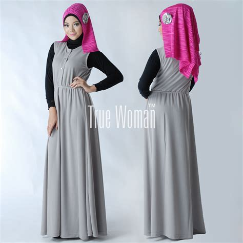 Gamis Wanita Katun Abu Simple I3s4c5 jual gamis wanita muslimah polos 28 images gambar model baju muslim brokat gamis contoh