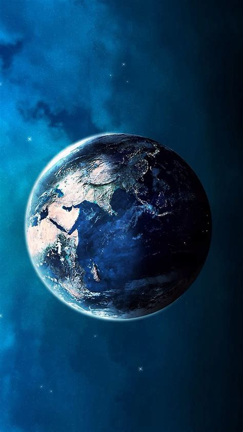 earth wallpaper for iphone 6 blue planet earth space iphone 6 wallpaper hd free