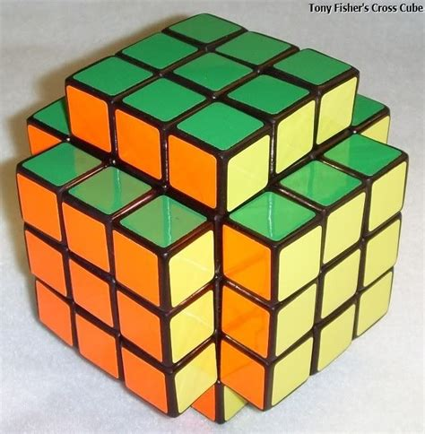 tutorial rubik fisher cube tony fisher s cross cube puzzle puzzles pinterest