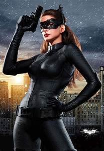 Finally we have the most recent catwoman anne hathaway in the still