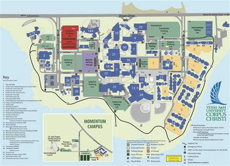 texas a and m map cus map texas a m university corpus christi