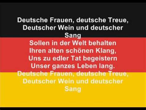 national anthem germany the anthem of germany youtube