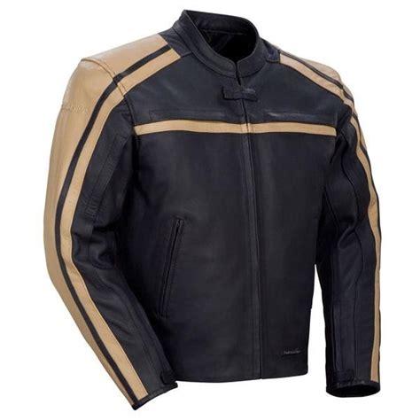 Jaket Pria Catenzo Nu 107 jaket kulit pria sport touring holidays oo