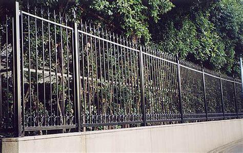 iron fence panel fences