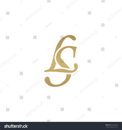 ls initial monogram logo stock vector 342942884 shutterstock