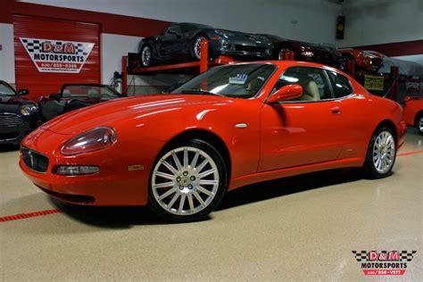 2002 maserati cambiocorsa 2002 maserati coupe cambiocorsa stock m5377 for sale