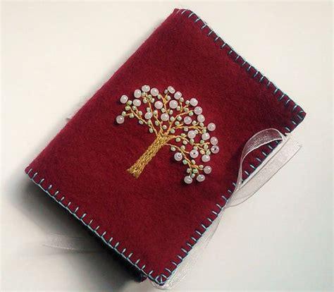 beaded needle cases wool felt needle embroidered needle book beaded