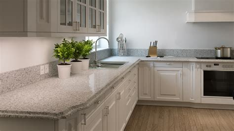 Pebble Granite Countertop by Caesarstone Countertops Chicago Lewis Floor