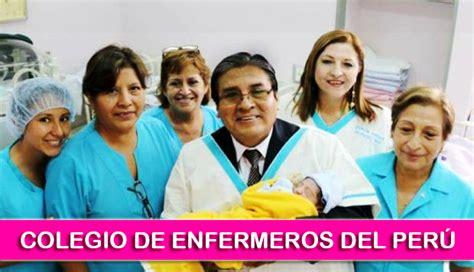 elecciones en el colegio de enfermeros del per consejo enfermeros buscan optimizar atenci 243 n en centros m 233 dicos