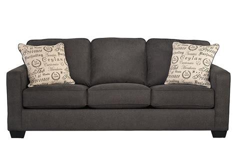 Furniture Liquidators Home Center Alenya Charcoal Sofa