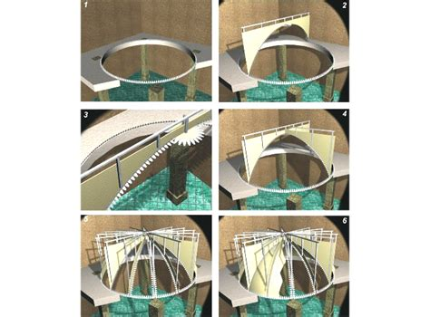 tetto a cupola soffitti ribassati in cartongesso soluzioni particolari
