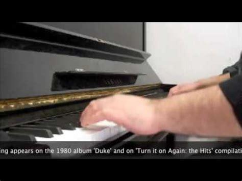 misunderstanding genesis genesis quot misunderstanding quot on piano