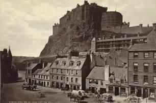 Castle Rock Floor Plans Edinburgh Castle From Grass Market