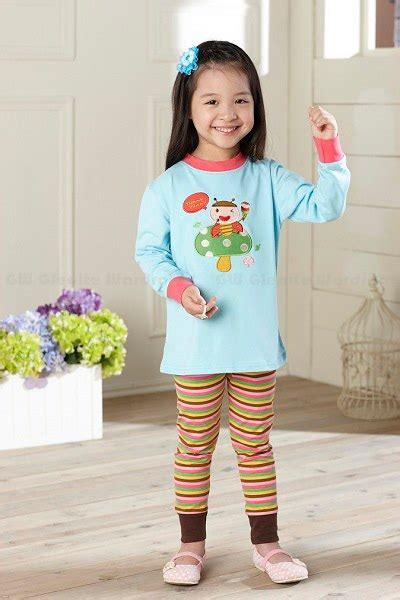 Pakaian Tidur Anak Cewek Import Branded Piyama Cat Cotton Blue baju tidur anak branded piyama anak shop