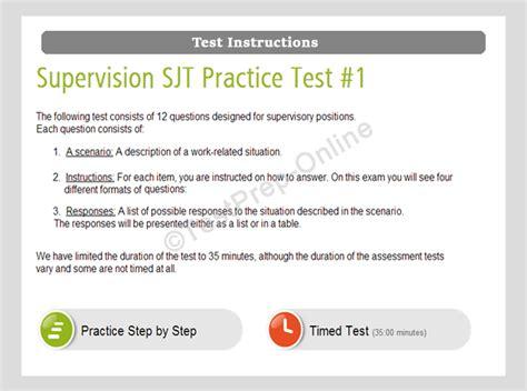 situational judgement tests sjt practice tests sle questions jobtestprep
