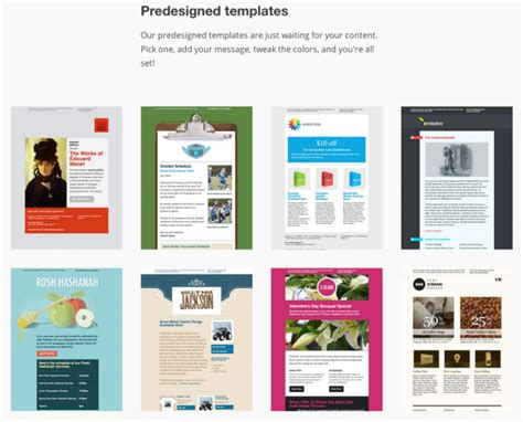 mailchimp template 12 best real estate newsletter template resources placester