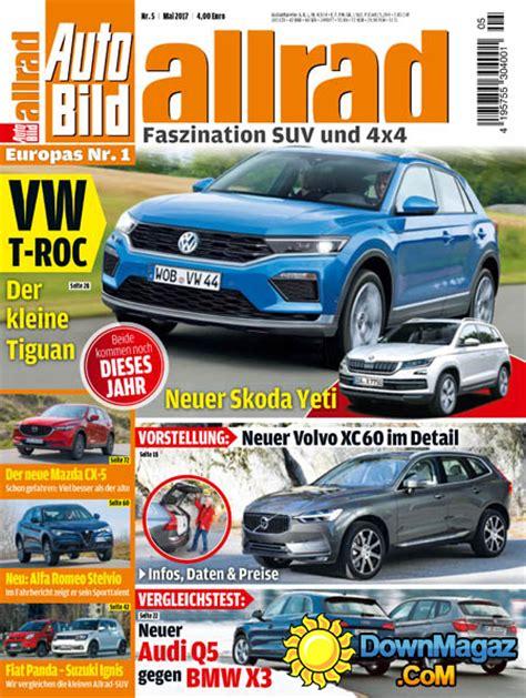 Auto Bild Allrad 11 2017 by Auto Bild Allrad 05 2017 187 Pdf Magazines