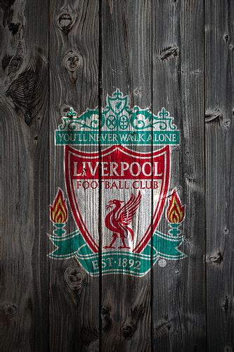 wallpaper iphone 5 liverpool liverpool wood iphone 4 background logo on wood