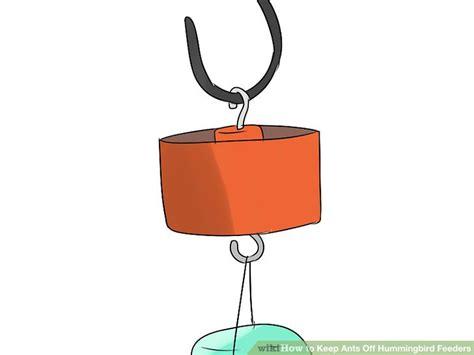 3 ways to keep ants off hummingbird feeders wikihow