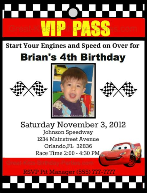 printable birthday invitations cars disney birthday invitations ideas bagvania free