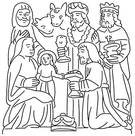 wise man coloring page biblical magi three kings