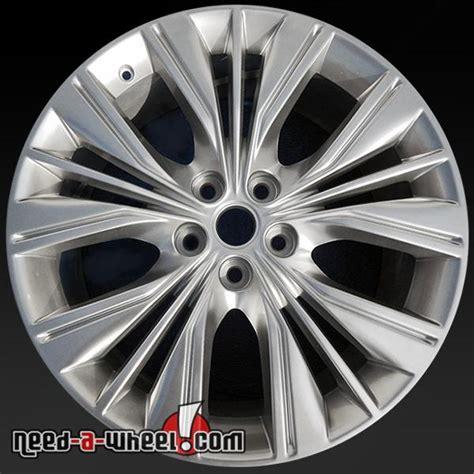 chevy impala stock rims 20 quot chevy impala wheels oem 2014 2015 hypersilver rims 5615