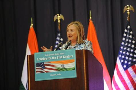 reports of romance between swathi and chennai industrialist photos secretary clinton travels to india