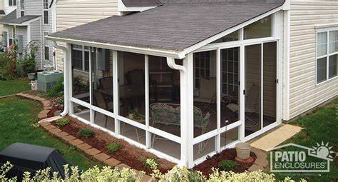 Aluminum Screen Room Kits by Screen Room Screened In Porch Designs Pictures Patio