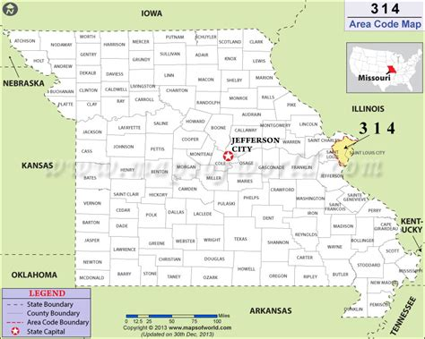 Area Code 314 Lookup 314 Area Code Map Where Is 314 Area Code In Missouri