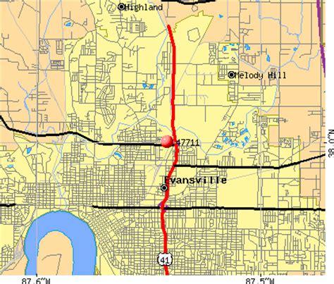 zip code map evansville in 47711 zip code evansville indiana profile homes