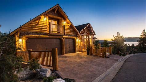luxury log cabins  sale architectural digest