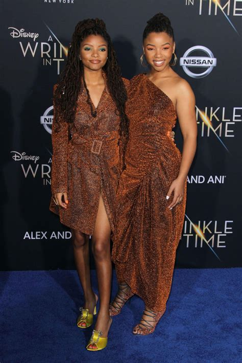 chloe and halle bailey movies chloe and halle bailey stills at a wrinkle in time