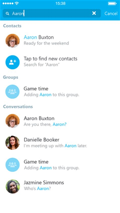 How Can Search Me On Skype When You Find The Person You Re Looking For Tap Them To