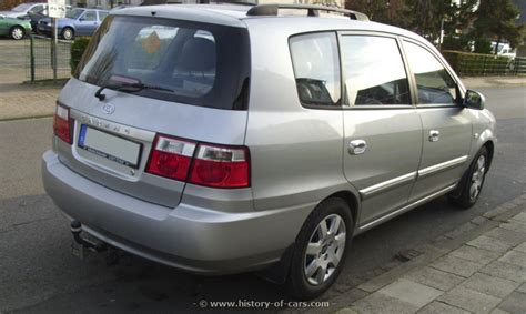 2002 Kia Carens kia 2002 carens the history of cars cars