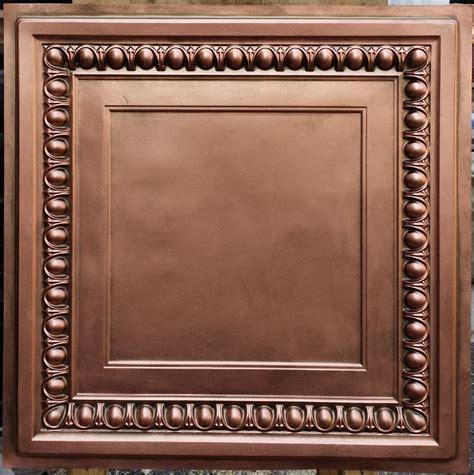 decorative panel group pl06 faux tin antique red copper ceiling tiles interior