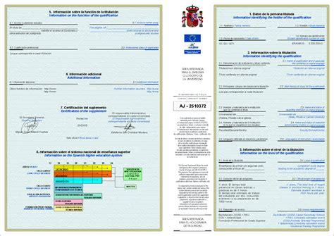 Modelo Curriculum Ucm Solicitud Suplemento Europeo Al T 237 Tulo Universidad De Murcia
