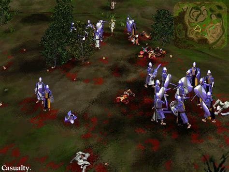 myth  fallen lords   strategy game