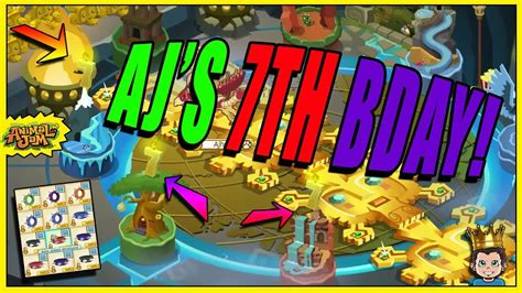 7th Birthday Giveaways - new cakes for animal jam s 7th birthday spike giveaway best cakes