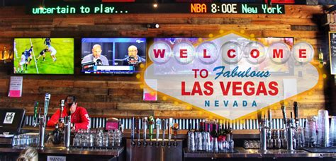 Las Vegas Top Bars by Best Las Vegas Sports Bars You Should Consider Visiting