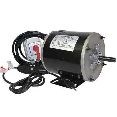 boat lift motor elite 3 4 hp boat lift motor for pwc hoist bh usa