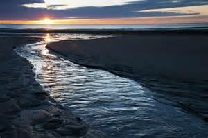 Seaside Duvet Cover Wells Beach Maine Sunrise Photograph By Glenn Gordon