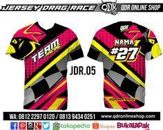 Jersey Drag Race Dkh jaket doraemon bahan lotto printing sublimation model