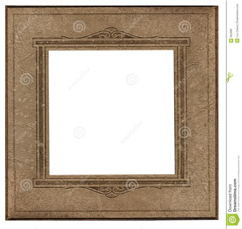 vintage square frame antique square photo frame stock photo image of image 355998