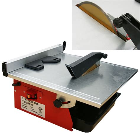 bench tile cutter 7 quot wet tile saw w tray tile cutter bench top tile saw ul