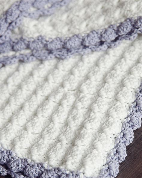 Baby Blanket Crochet Patterns by Vintage Chic Crochet Baby Blanket
