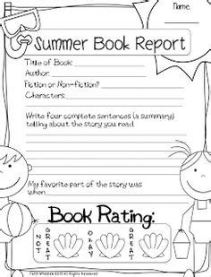 how to end a book report grade end of year ideas on writing