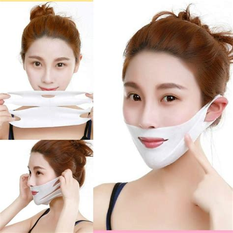 Lifting Mask chin and cheek lifting mask 5pcs mask to adjust