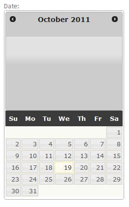 layout html jquery html jquery datepicker stretched out wrong layout
