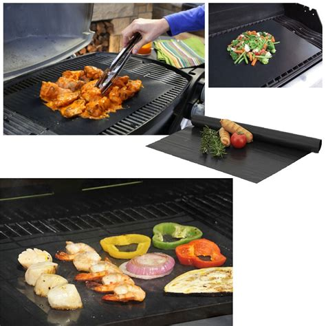 Cooking Mat For Grill by 1pcs Non Stick Bbq Grill Mat Barbecue Baking Liner Teflon